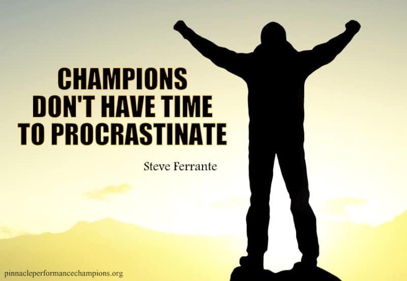 procrastination successful