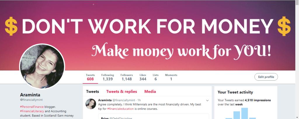financiallymint twitter growth
