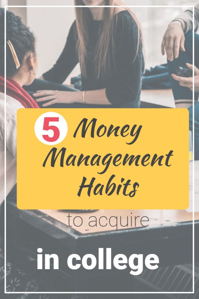 pinterest money management habits