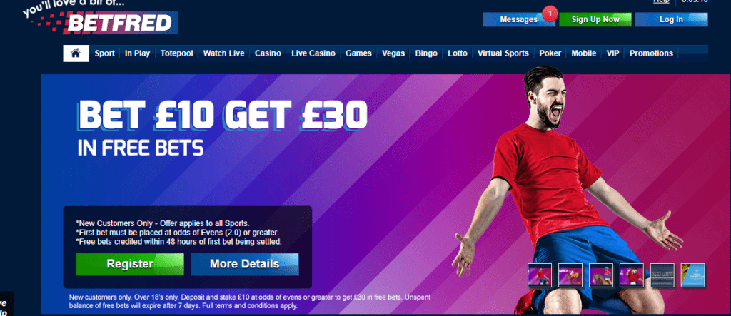 betfred matched betting