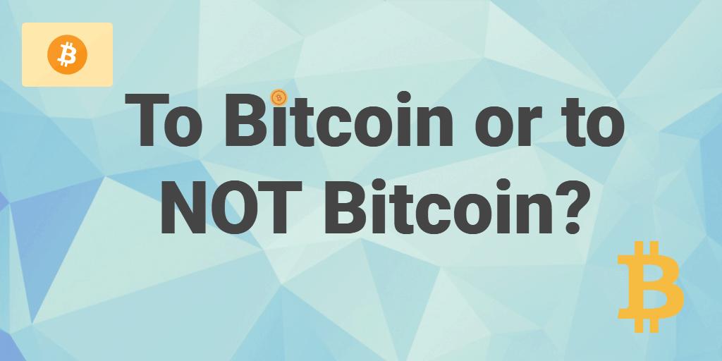 bitcoin financial DIY mentality