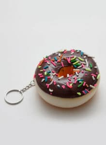 donut keyring start investing in college