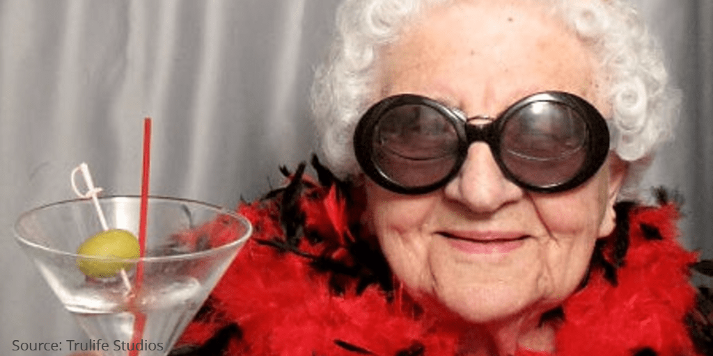 funny grandma financial DIY mentality