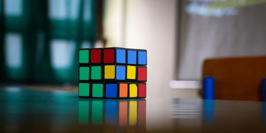 rubik's cube passive income