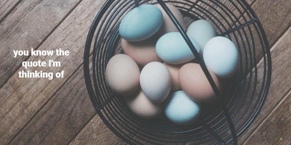 eggs investing