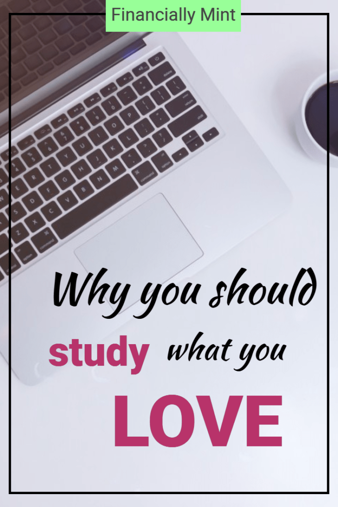 pinterest study what you love