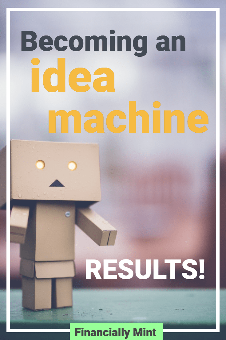 idea machine results