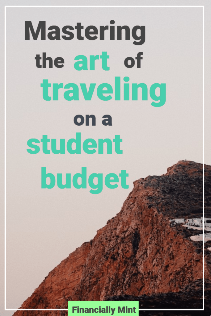 pinterest traveling on a student budget