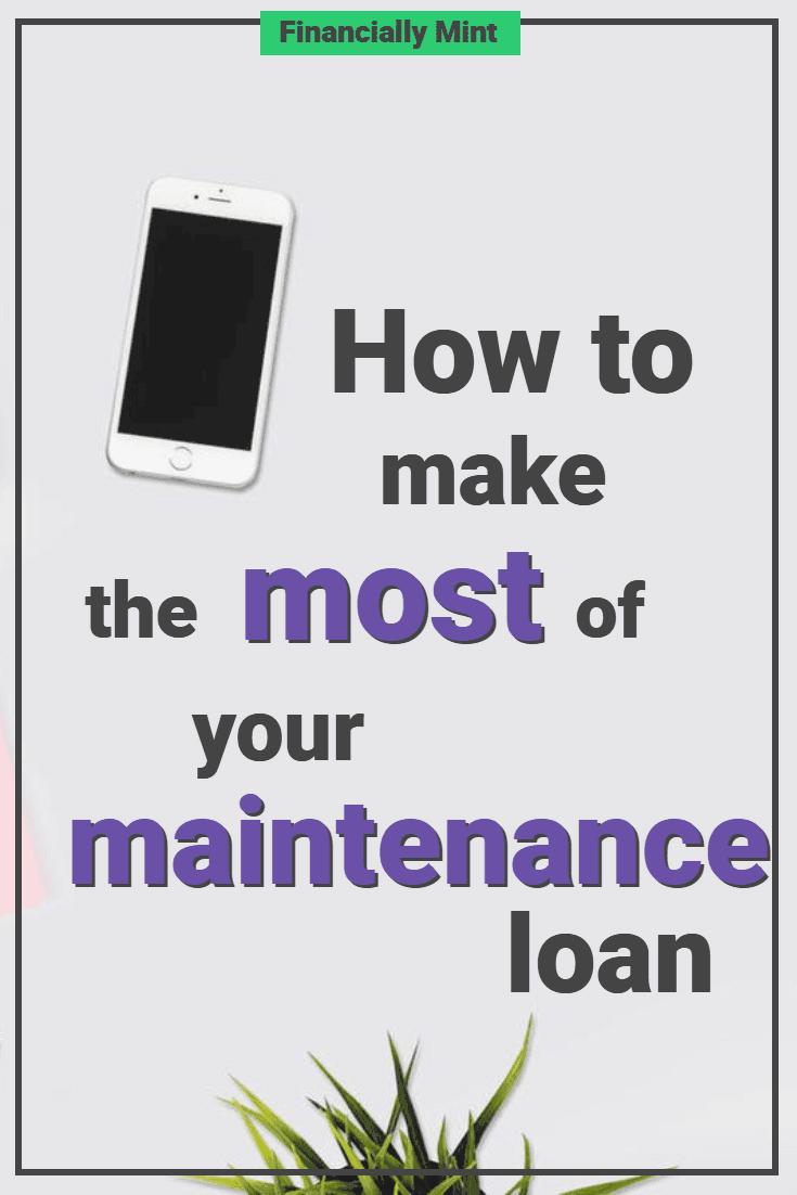 maintenance loan