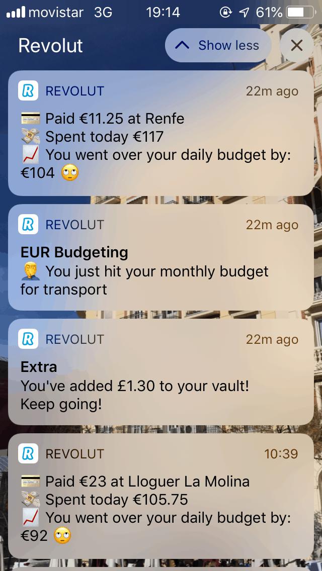 revolut notifications